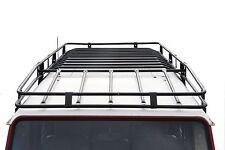 Defender 110 expedition toit rack-black powder coated