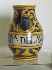 ITALIAN MAJOLICA  PHARMACEUTICAL JAR, 16th. century