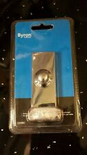 Byron Smartwares 2204BC Surface Door Bell Push - Polished Chrome