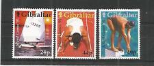 Gibraltar 1995 Island GAMES SG, 745-747 U/mm N/H Lot 4450 A