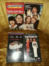 Comedy VHS LOT Drop Dead Fred/Death Becomes Her/She Devil/The War Of The Roses
