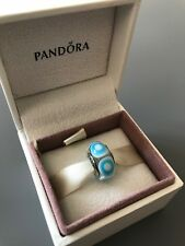 Blue Stepping Stone Genuine PANDORA murano charm