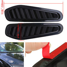 Car-styling Black Air Flow Intake Scoop Turbo Bonnet Vent Cover Hood Decoration