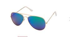 Women's Aviator/Pilot Gold&Blue Sunglasses NWT