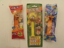 Speedy Gonzalez Pez Candy Dispenser Looney Tunes & Tigger Pez (2) LOT OF 3  NEW