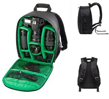 Waterproof DSLR Camera Backpack Shoulder Bag Case For Canon / Nikon / Sony Green