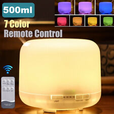 500Ml Essential Oil Diffuser Led Humidifier Ultrasonic Aromatherapy Air Purifier
