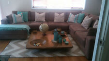 Harvey Norman 3 Seater Sofa Sectional - Slate Grey - ONLY INCLUDED