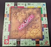 2003 LORD OF THE RINGS MONOPOLY GAME BOARD REPLACEMENT LotR