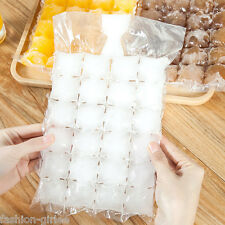 New 10Pcs Portable Cold Drink Ice-making Bags Disposable Ice Bags Cube Tray Mold
