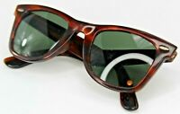 Vintage B&L Ray Ban Wayfarer Tortoise Shell G15, 5024, Brown Sunglasses