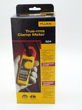 Fluke 324 True Rms Digital Clamp Meter Voltage To 600v New Includes Case