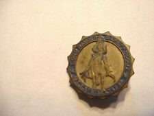Vintage 1940's Lone Ranger Safety Scout Silvercup Pinback Button Badge