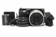Sony NEX-F3 16.1 MP Mirrorless Digital Camera Kit w/ 18-55mm OSS Lens; BL 412983