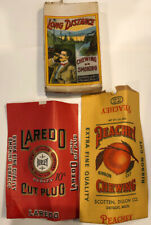 Vintage Lot Of 3 Peachey Laredo Scotten- Dillon Co. Tobacco Products Packaging