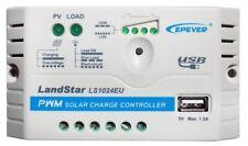 Solar-Laderegler bis 120W (12V) oder 240W (24V), mit USB für Blei, Gel, AGM
