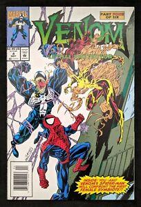 Venom Lethal Protector #4 Rare Newsstand! 1st Scream, Agony, Phage, Lasher, Riot