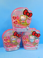 Hello Kitty Rollin Action Mini Figure Sweet Cakes, Berry Fun, Rainbow Dream Lot