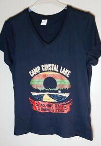 Camp Crystal Lake Sz XL Tshirt, Friday the 13th movie