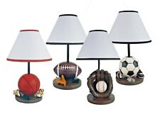 Hongville Bedroom Game-Room Decor Athletic Themed Design Table Lamp