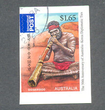 Australia-Music Aborigine self-adhesive fine used cto ((3667)-2011