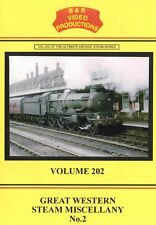 Great Western Steam Miscellany No2 B&R DVD 202Oxford Exmouth Swansea Three Cocks