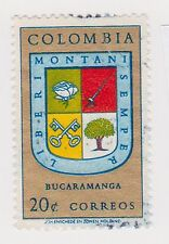 (COA-110) 1961 Colombia 20c postage ANTICO (AI)