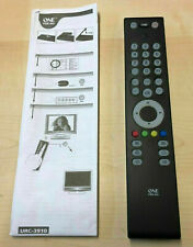 One For All URC3910 Slim Line TV Universal Remote Control - Boxed - URC 3910