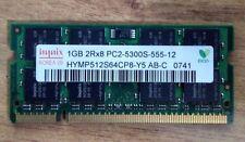 Memoria RAM 1GB DDR2 PC2 5300S (SODIMM) 200-pin per Laptop Notebook Portatile