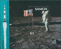 Samoa 1989 SG834 Moonlanding MS MNH