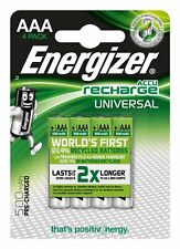 Energizer E301375700 Blister de 4 Piles Rechargeables Micro 1,2V 500mAh AAA-HR03