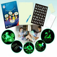 Illuminated Light Drawing Board Kids Doodle Tool Education Toys Christmas Gifts