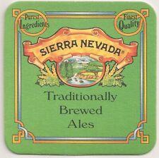 """""""Sierra Nevada"""" - Bierdeckel """"Traditionally Brewed Ales"""" aus Kalifornien I"""
