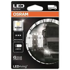 OSRAM LED W5W 24V Auto Lampadine Bianco Caldo Zeppa 507 Interior 2824WW-02B (TWIN)