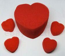 MULTIPLYING HEART 5 RED SPONGE WEDDING VALENTINE LOVE HARTS NEW FOAM MAGIC TRICK