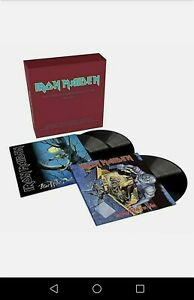 IRON MAIDEN -THE COMPLETE ALBUMS COLLECTION BOX- AWESOME VINYL LP BOX 3 DISCS