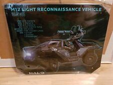 Halo Warthog Specs Tin Sign free shipping