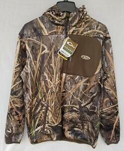 New Men's Drake Endurance 1/4 Zip Pull Over Jacket AD2080 022 Mossy Oak Habitat