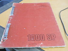 Moto Guzzi Spare Parts Manual Catalog V1000 SP
