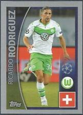 TOPPS CHAMPIONS LEAGUE-2015-16 #088-VFL WOLFSBURG-RICARDO RODRIGUEZ IN ACTION
