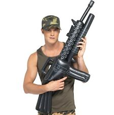 Army Fancy Dress Inflatable M16 Machine Gun 112cm New by Smiffys