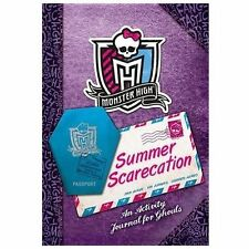 Monster High: Summer Scarecation: An Activity Journal for Ghouls - VeryGood - Da