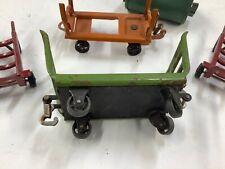 Lionel Prewar 163 Freight Station Set 2 Carts & 2 Hand Trucks