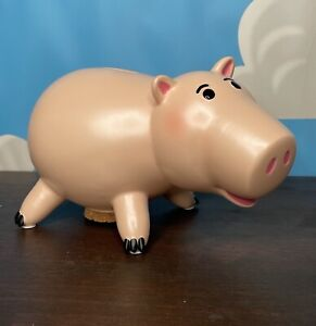 Genuine Disney Store Hamm Resin Piggy Bank Money Box Toy Story Pig Ornament