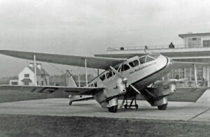 De HAVILLAND DH 89A Dragon Rapide. Spannweite 1621 mm. Modellbauplan