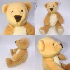 "Vtg St Michael M&S Marks & Spencer Brown Teddy Bear Sitting Soft Plush Toy 6"""