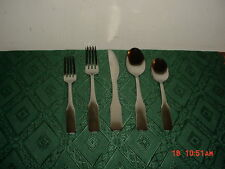 "20-PC CORELLE COORDINATES ""NOAH MIRROR"" STAINLESS STEEL FLATWARE/NIB/FREE SHIP!"