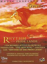 X0873 The Lion King - Colonna Sonora Disney - Pubblicità del 1995 - Advertising