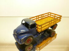 DINKY TOYS 531 LEYLAND COMET LORRY TRUCK - BLUE L14.0cm - GOOD CONDITION