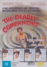 THE DEADLY COMPANIONS - Maureen O'Hara, Brian Keith, Steve Cochran - DVD